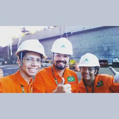 Photo taken at Estaleiro Inhaúma by Wainer M. on 5/21/2015