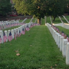 Photo taken at Alexandria National Cemetery by Bob T. on 5/26/2014
