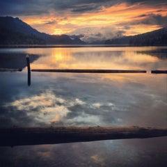 Photo taken at Merwin Lake by Erin S. on 9/17/2013