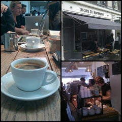 Photo taken at Store Street Espresso by Daniel S. on 1/29/2013