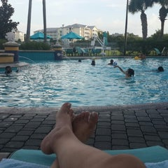 Photo taken at Residence Inn Orlando at SeaWorld® by Fatma A. on 8/13/2014