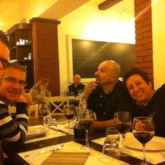 Photo taken at Osteria Di Villa by Danny M. on 10/16/2013