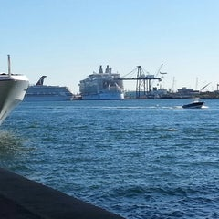 Photo taken at Port Everglades by Tenee C. on 2/17/2013