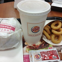 Photo taken at BURGER KING 品川シーサイドフォレスト店 by Takashi A. on 3/8/2013