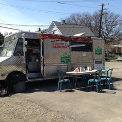 Photo taken at Los Dos Amigos Taco Truck by Jim L. on 4/27/2013