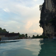 Photo taken at Railay Phutawan Resort by Luciana F. on 12/4/2014