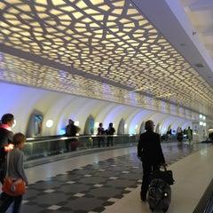 Photo taken at Abu Dhabi International Airport (AUH) مطار أبو ظبي الدولي by eLo on 2/22/2013