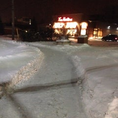 Photo taken at Tim Hortons by Ali A. on 12/31/2013