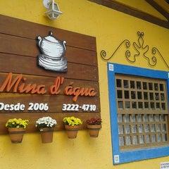 Photo taken at Restaurante Mina d'Água by Suely #. on 11/7/2014