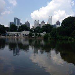 Photo taken at Piedmont Park by Bruce F. on 7/28/2013