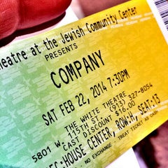 Photo taken at The White Theatre by Jason E. on 2/23/2014