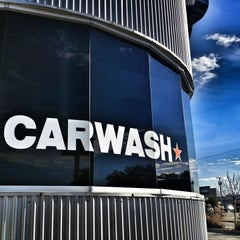 Photo taken at Tommy Terrific's Carwash by Nikki on 1/3/2013