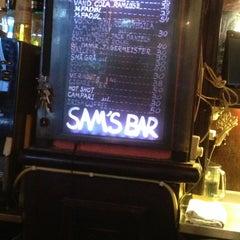 Photo taken at Sam's Bar by Sammy C. on 9/14/2013