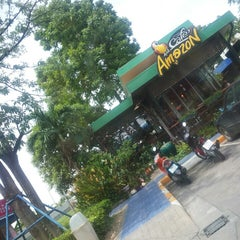 Photo taken at Café Amazon (คาเฟ่ อเมซอน) by kawalee s. on 7/7/2014