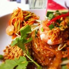 Photo taken at myElephant Thai Restaurant by Justin F. on 6/27/2013