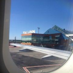 Photo taken at Tallinn Airport (TLL) by Ivan L. on 4/24/2013