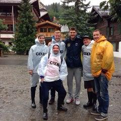 Das Foto wurde bei FIVB Gstaad Center Court von DidzisKO am 7/13/2014 aufgenommen