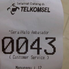 Photo taken at GeraiHALO Telkomsel by Muttiah T. on 10/20/2012