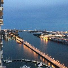 Photo taken at Miami Marriott Biscayne Bay by Danny M. on 10/6/2012