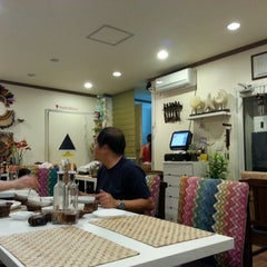 Photo taken at Kusina - Filipino Restaurant by Hyejin S. on 10/1/2013