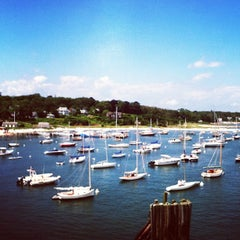 Photo taken at Vineyard Haven Harbor by Andrew S. on 7/14/2013
