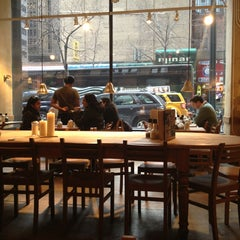 Photo taken at Le Pain Quotidien by Trúc N. on 4/4/2013