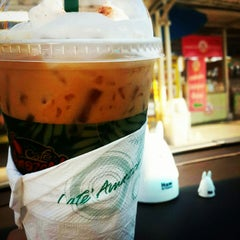Photo taken at Café Amazon (คาเฟ่ อเมซอน) by Ja@ee K. on 12/10/2014