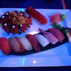Photo taken at Sushi at The Lake by E T. on 10/18/2014