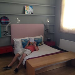 Photo taken at myhotel by Isma M. on 7/26/2014