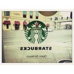 Photo taken at Starbucks by hiroyukky on 11/29/2012