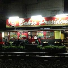 Photo taken at Bakso President by Irene B. on 6/23/2013