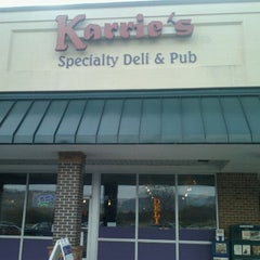 Photo taken at Karrie's Deli & Pub by Frances S. on 11/6/2012