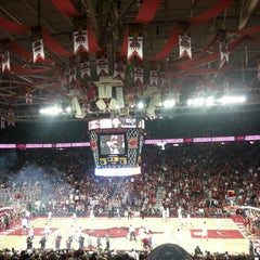 Photo taken at Bud Walton Arena by Derek M. on 3/2/2013