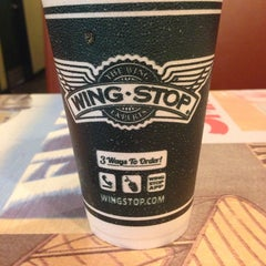 Photo taken at Wingstop by Leo L. on 9/26/2013