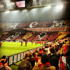Photo taken at Türk Telekom Arena by sercan y. on 2/22/2013