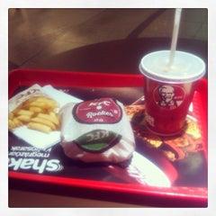 Photo taken at KFC by Dániel K. on 1/9/2014