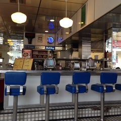 Photo taken at Soda Rock Diner by Thomas E. on 10/19/2013