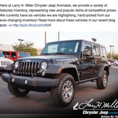 Photo taken at Larry H. Miller Chrysler Jeep Avondale by Larry H. Miller Chrysler Jeep Avondale on 10/29/2014