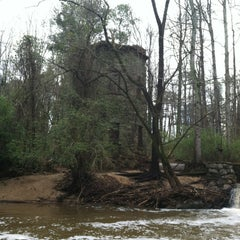 Photo taken at Lullwater Preserve by Abby B. on 3/9/2012