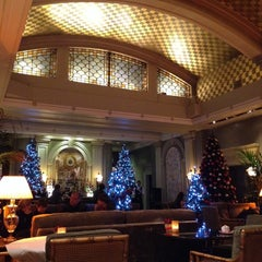 Photo taken at The Palm Court by Natalie L. on 12/24/2013