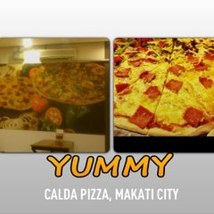 Photo taken at Calda Pizza by Barbie c. on 4/14/2013