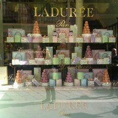 Photo taken at Ladurée by Daniele M. on 9/28/2012