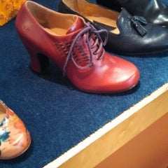 Photo taken at John Fluevog Shoes by elizabeth m. on 4/20/2013