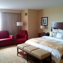 Photo taken at Raleigh Marriott City Center by Jan R. on 6/3/2013