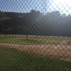 Photo taken at Bill Botts Baseball Fields by Grant S. on 3/28/2015