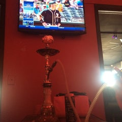 Photo taken at Blaze Hookah Lounge by Jeremy W. on 5/29/2014
