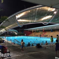 Photo taken at Sengkang Swimming Complex by Rick on 11/14/2014