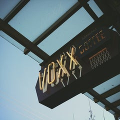 Photo taken at Voxx Coffee by Kate K. on 1/3/2013