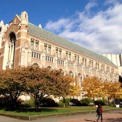 Photo taken at University of Washington by Kate K. on 11/11/2012