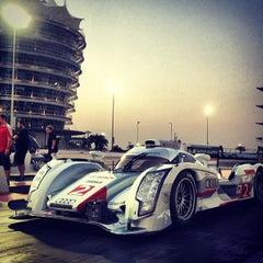 Photo taken at Bahrain International Circuit by Mohamed S. on 9/26/2012